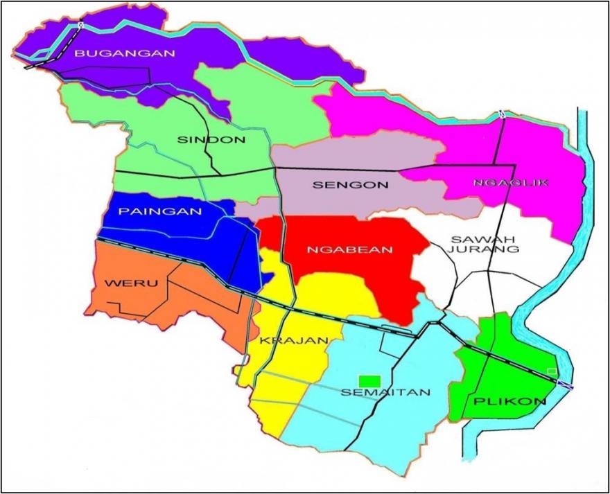 Image : Peta Desa Trasan