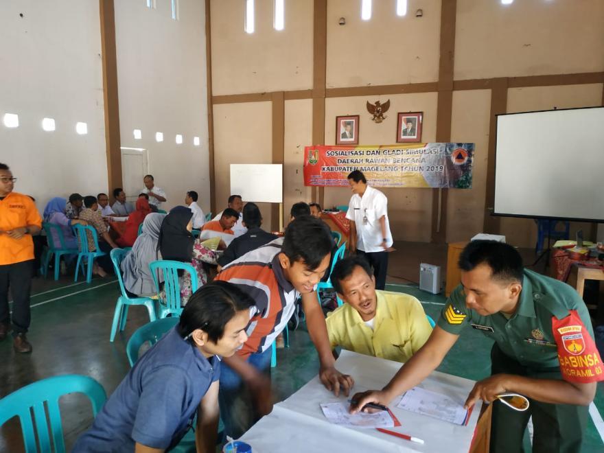 Image : Sosialisasi dan Gladi Simulasi Daerah Rawan Bencana