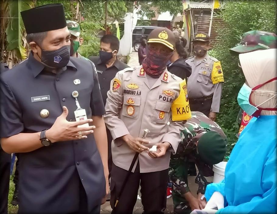 Image : Kunjungan Kerja Bupati Magelang, Kapolres Kota dan Dandim 0705