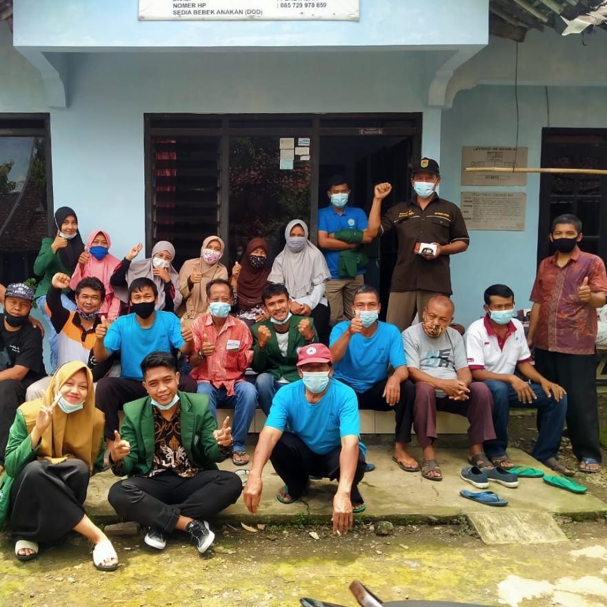 Image : Olahan Buah Mengkudu sebagai Ransum Itik